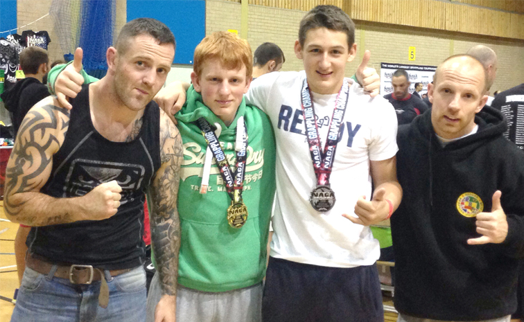 Aycliffe Grapplers Win International Medals