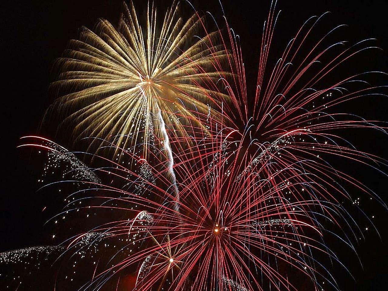 Great Aycliffe Firework Display 2014