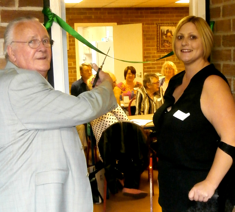 Re-launch of Town's Cancer Support Group