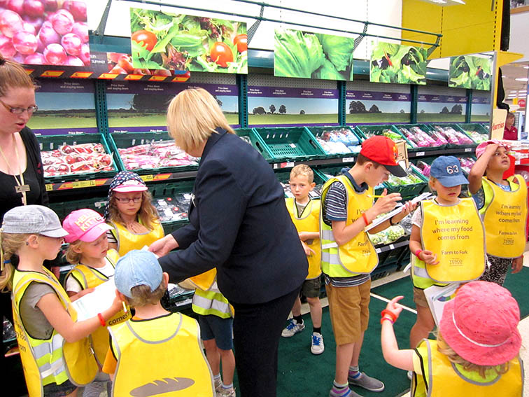 Children Learn About Food