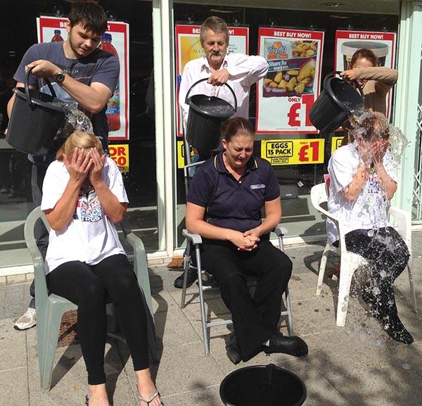 Heron Staff Take the Ice Bucket Challenge
