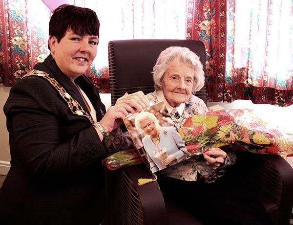 Aycliffe Resident Marks 100th Birthday