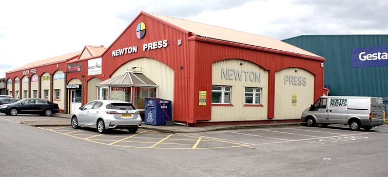 Newton Press  Expands – Moving to New Premises