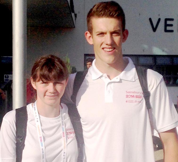 Town Swimmers Shine at UK School Games