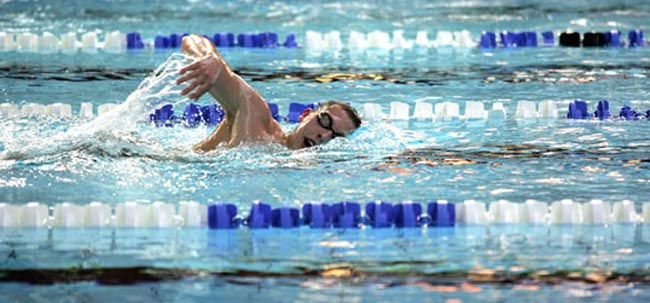 Super Swimming Month for Sedgefield 75 Club