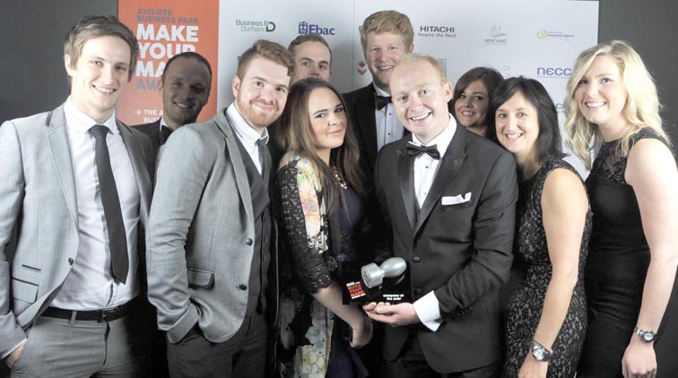 Aycliffe Company of the Year Awarded to Tekmar Energy