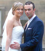 Aycliffe Couple Married in Northumberland
