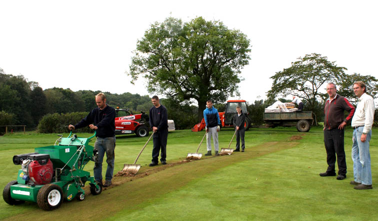 Woodham Golf Course Gets the Green Treatment