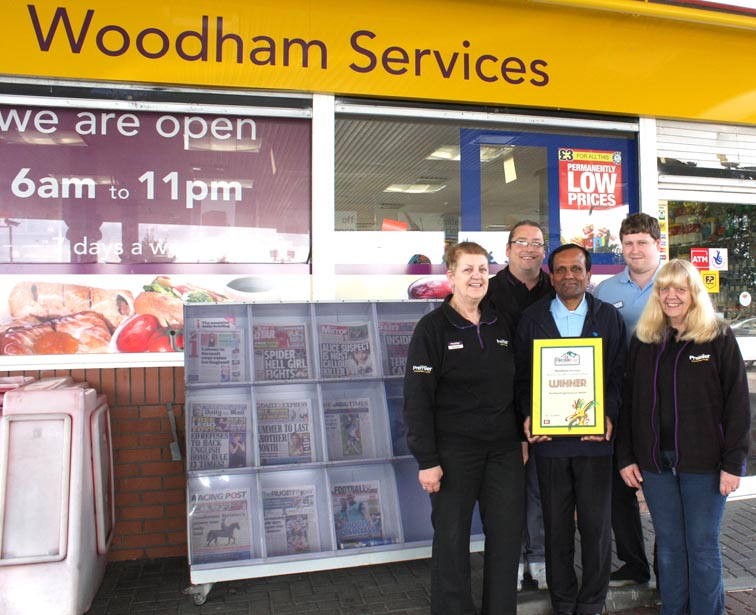 National Award for Woodham Services