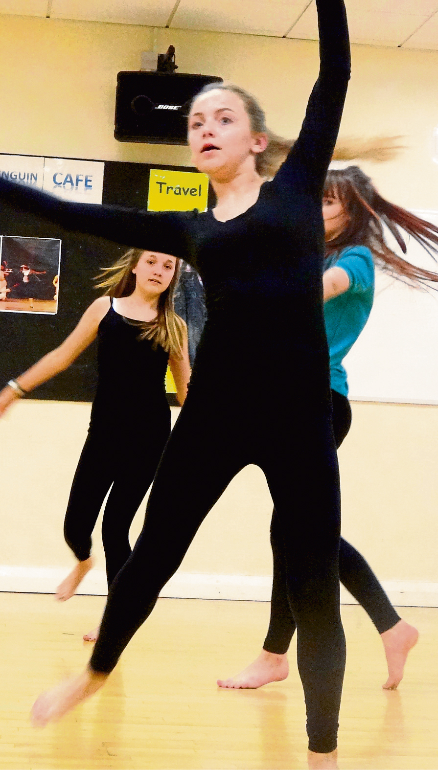 Greenfield Rehearse for Annual Show