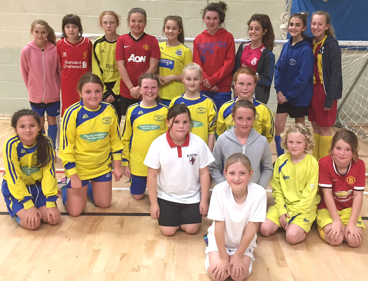 Aycliffe Girl Footballers