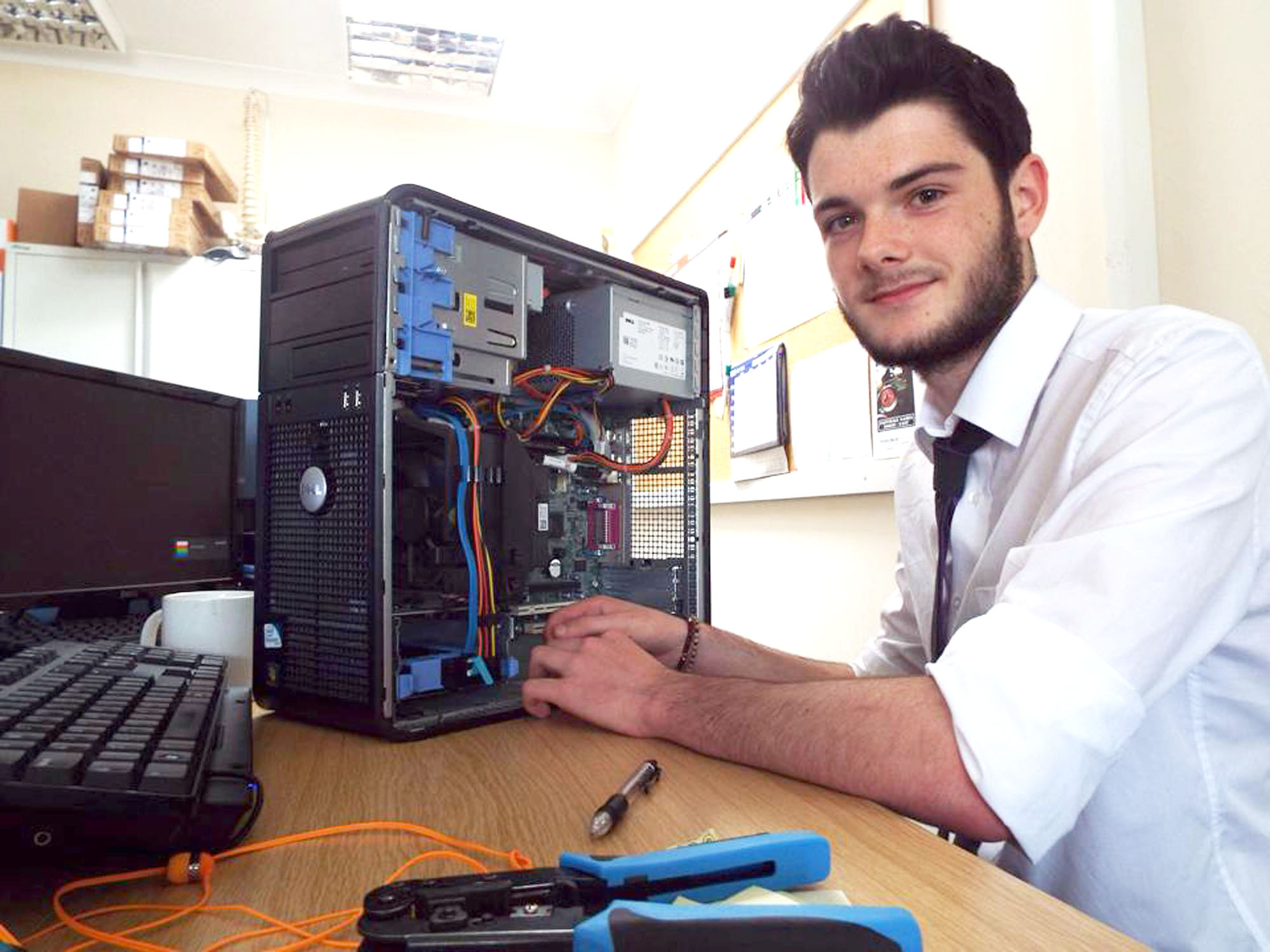 Baltic Offer Tech Industry Gold Apprenticeships