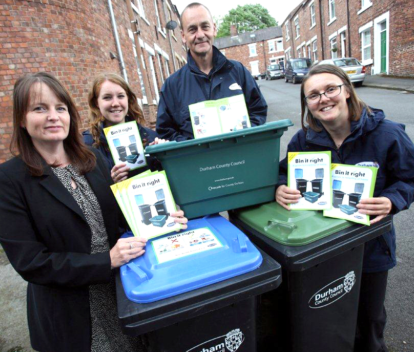 Unusual Suspects Wanted for Recycle Week
