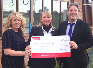 Donation Supports Aycliffe Autism College