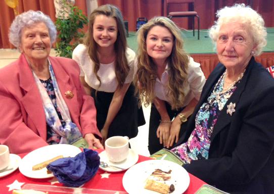 St. John's School Tea Party for Aycliffe Angels