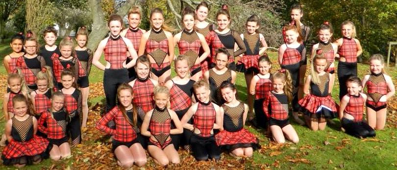 Dance School Perform  in London's West End