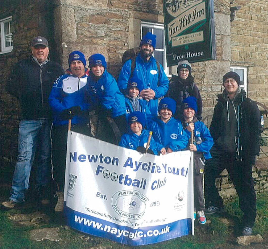 Sponsored Dales Walk  for Falcons Under 8's