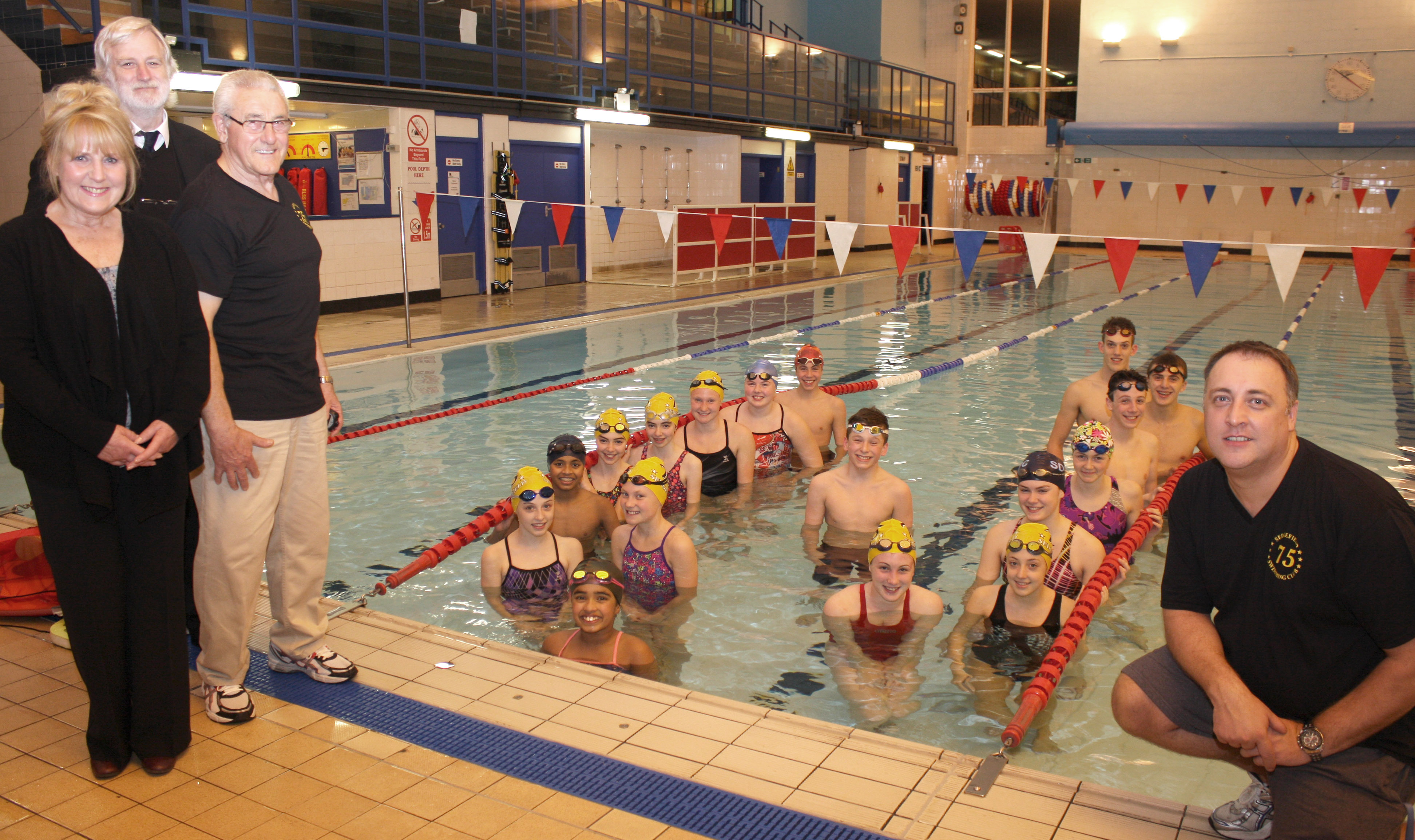 New Lane Ropes Helps Aycliffe Swimmers