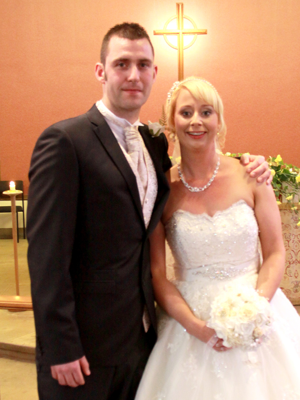 Married at St. Clare's