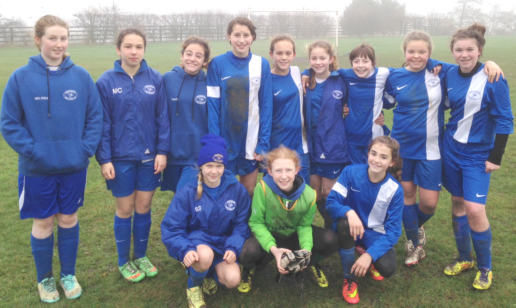 NAYFC Girls' U13's in Cup Final After Penalty Shoot-out
