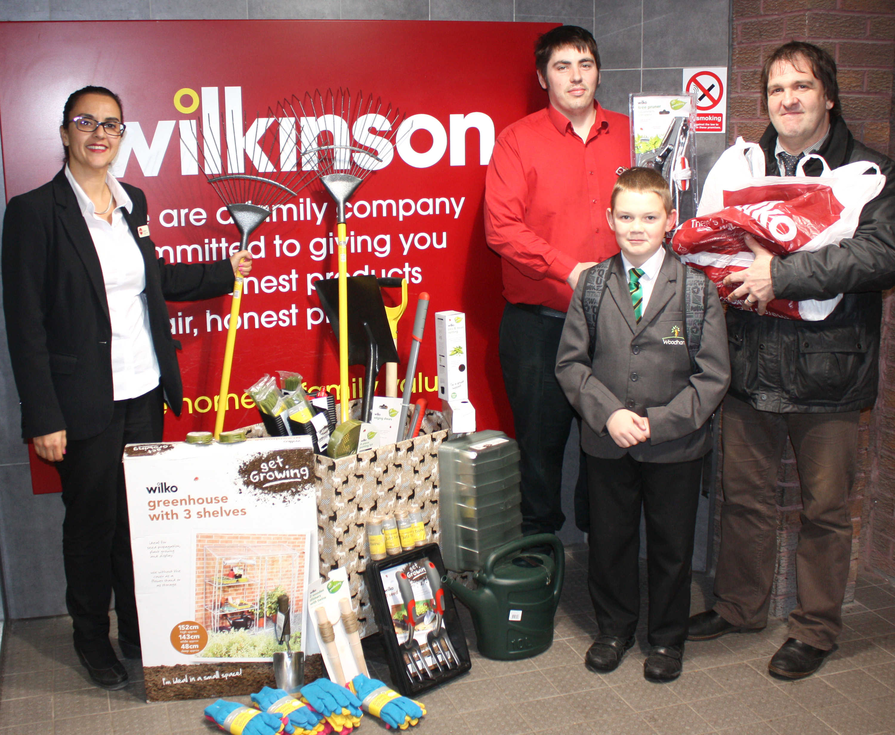 Wilko's Help School's Conservation Project