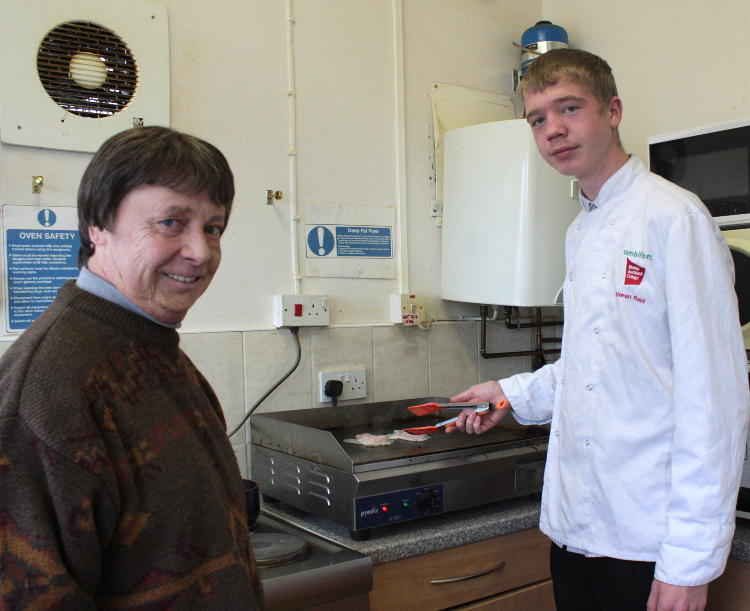 Work Experience for Budding Chef