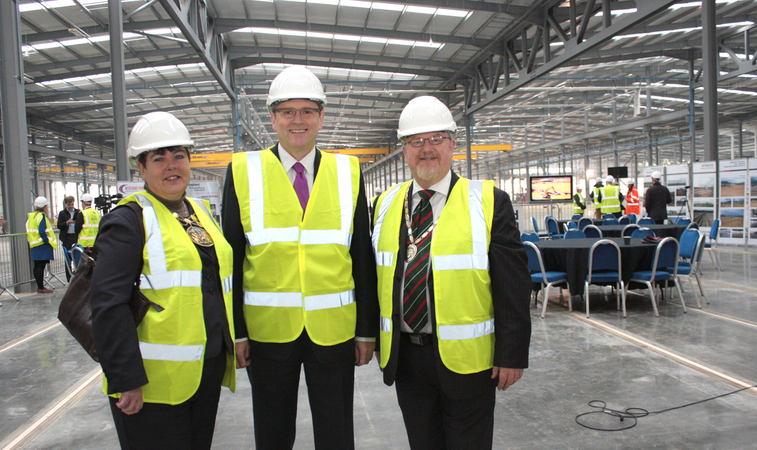 Hitachi Train Factory Ready for Internal Fitting Out Announcement of UK Design Office for Aycliffe