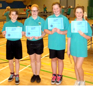 Table Tennis Finalists