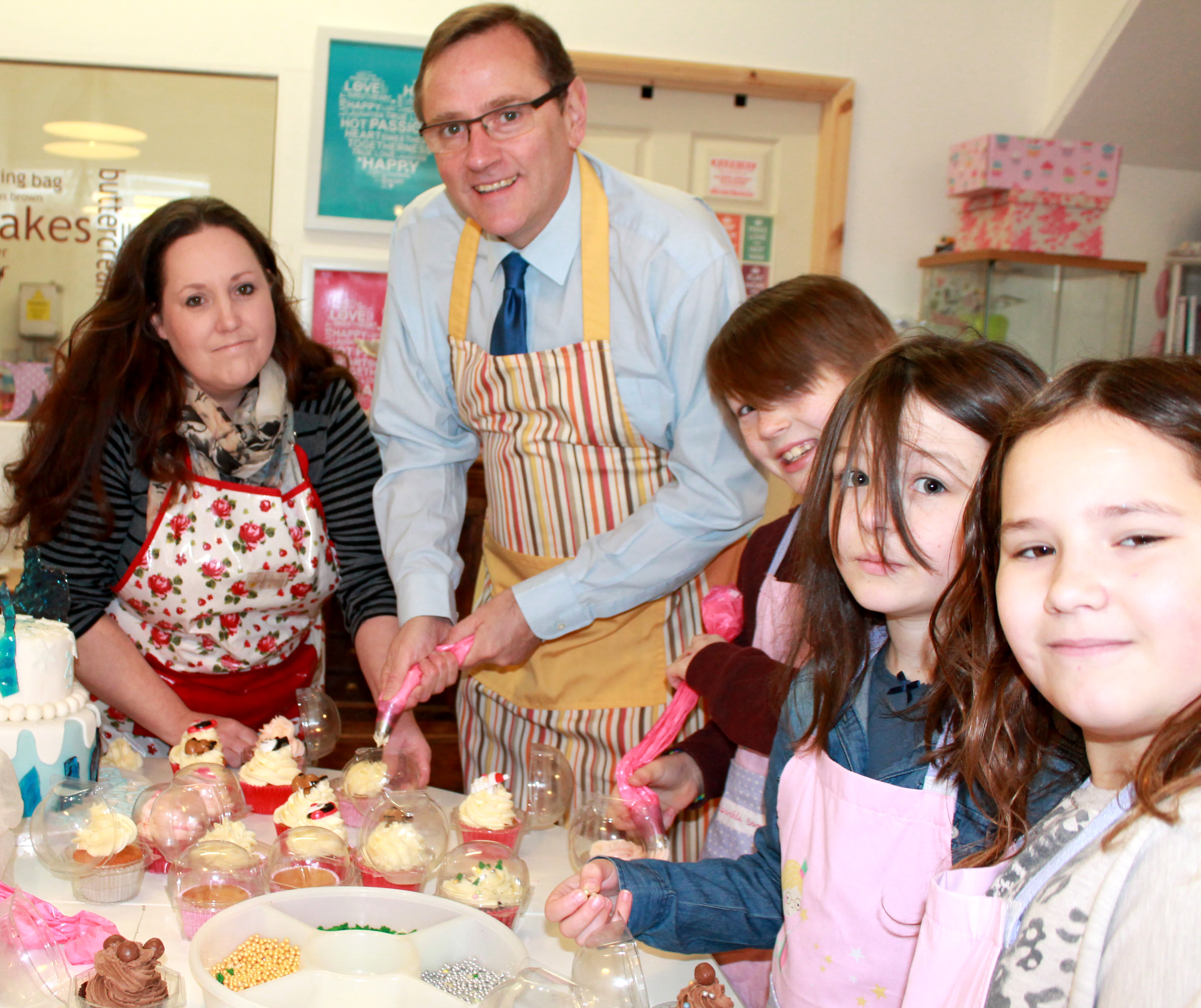 MP Backs Small Businesses in Aycliffe Town Centre