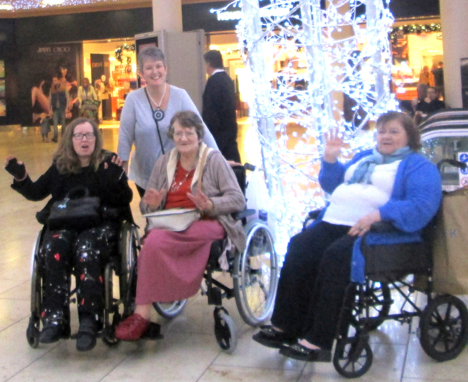 Care Home Residents  Visit Metro Centre