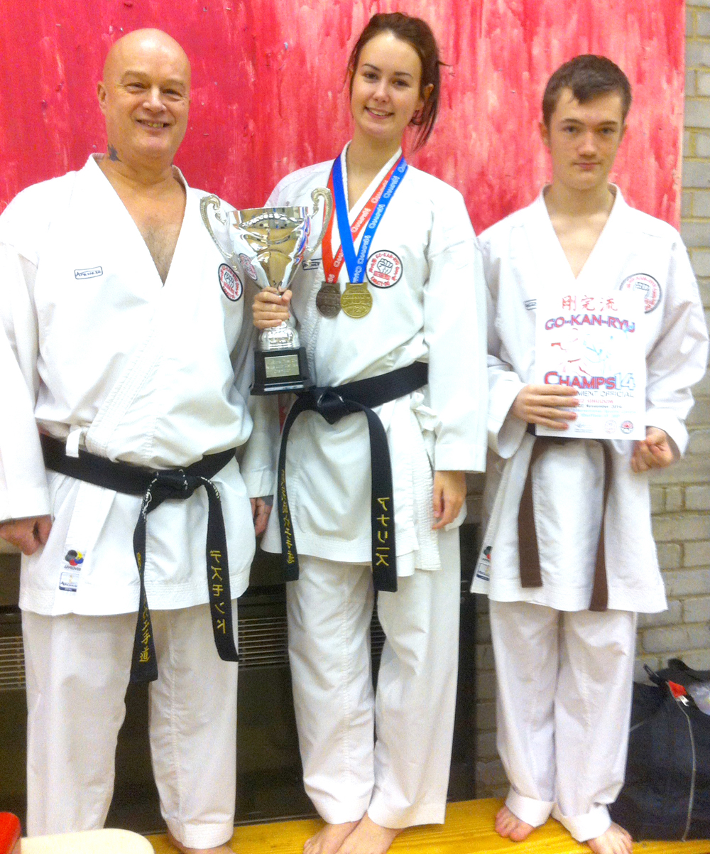 Newtonian Wins Karate National Championship