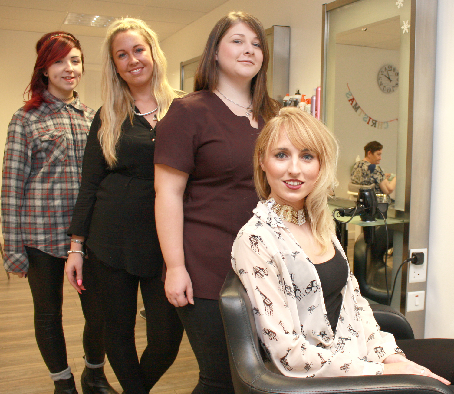 Town Supports New Hairdressing Salon