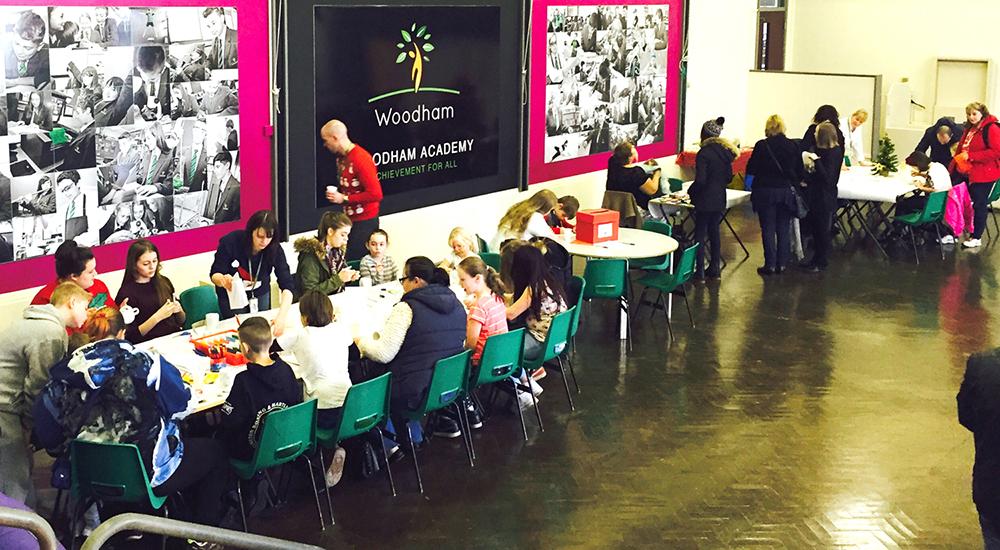 Wonderful Festive Fair at Woodham Academy