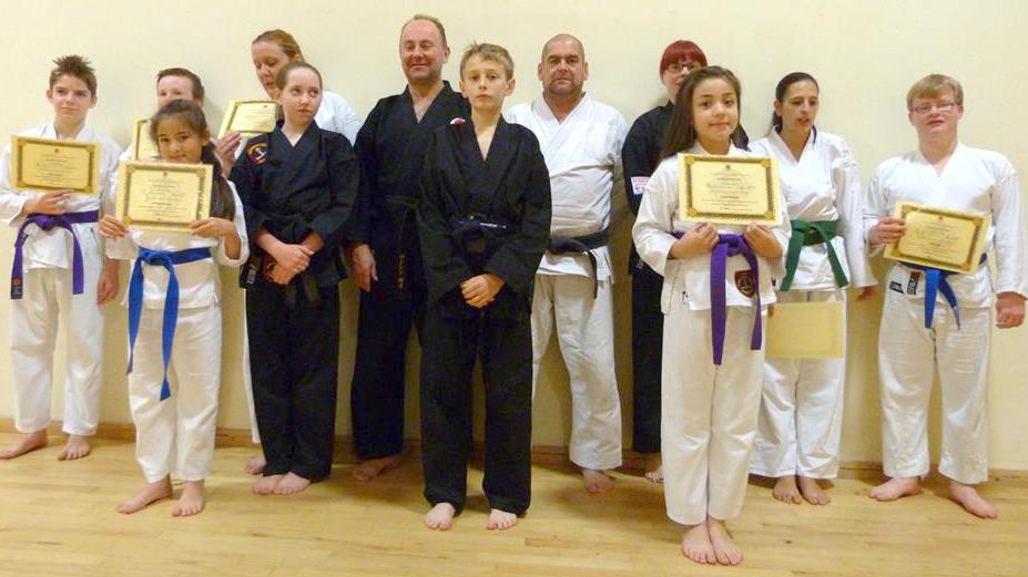 Zanshin-Kai Karate Gradings