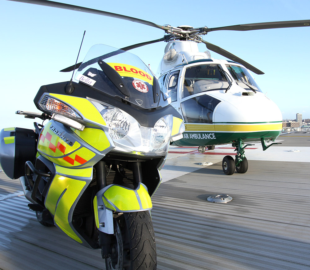 North Air Ambulance Plasma Trial Saves Lives