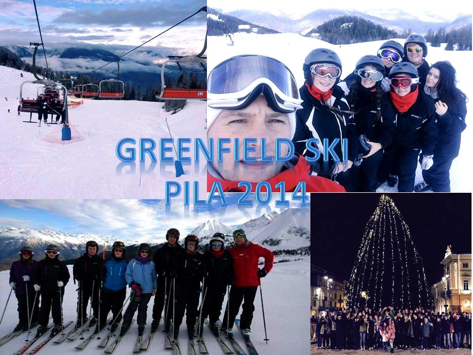 Greenfield Students on Italian Residential Ski Trip