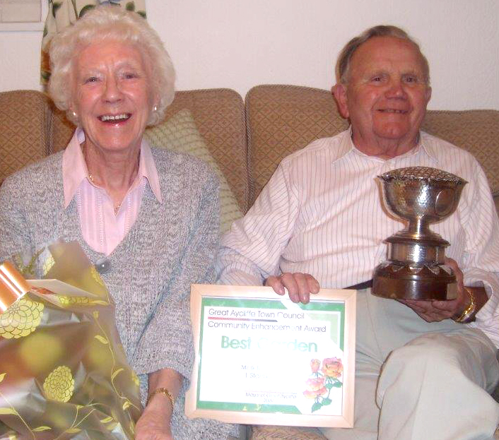 Death of Town's Award Winning Gardener