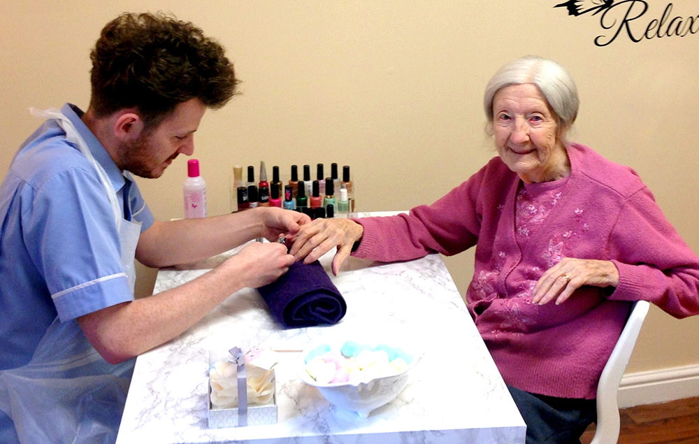 Care Home Adds Beauty Room & Lounge