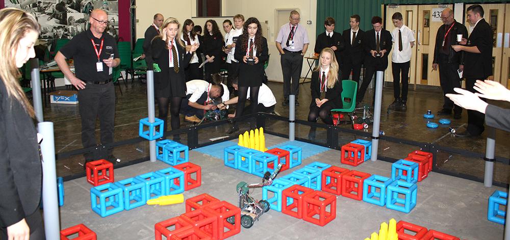 County Robotics Event at Woodham