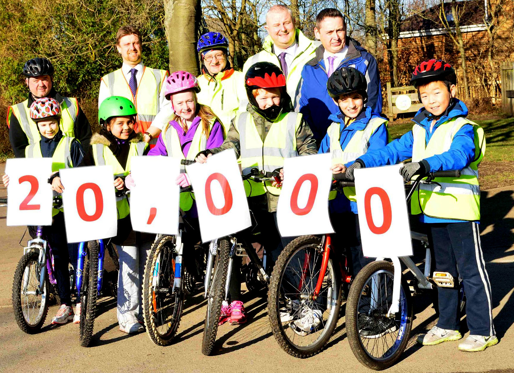 20,000 Schoolchildren Benefit from Bikeability Training