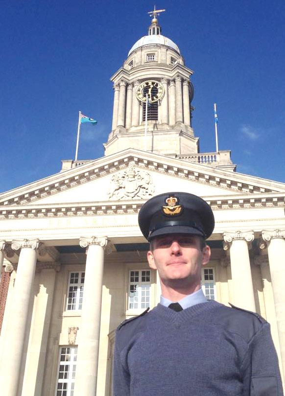 Former Cadet Promoted to Pilot Officer