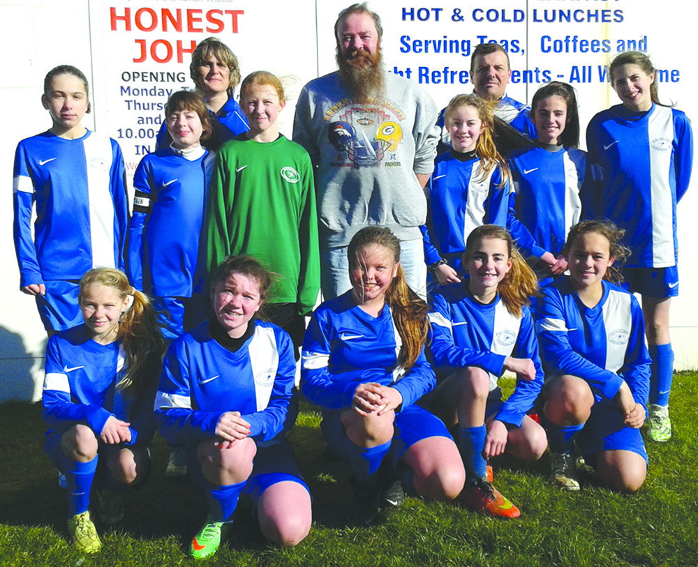 Help for Town's Under 13 Girls'  Football Team