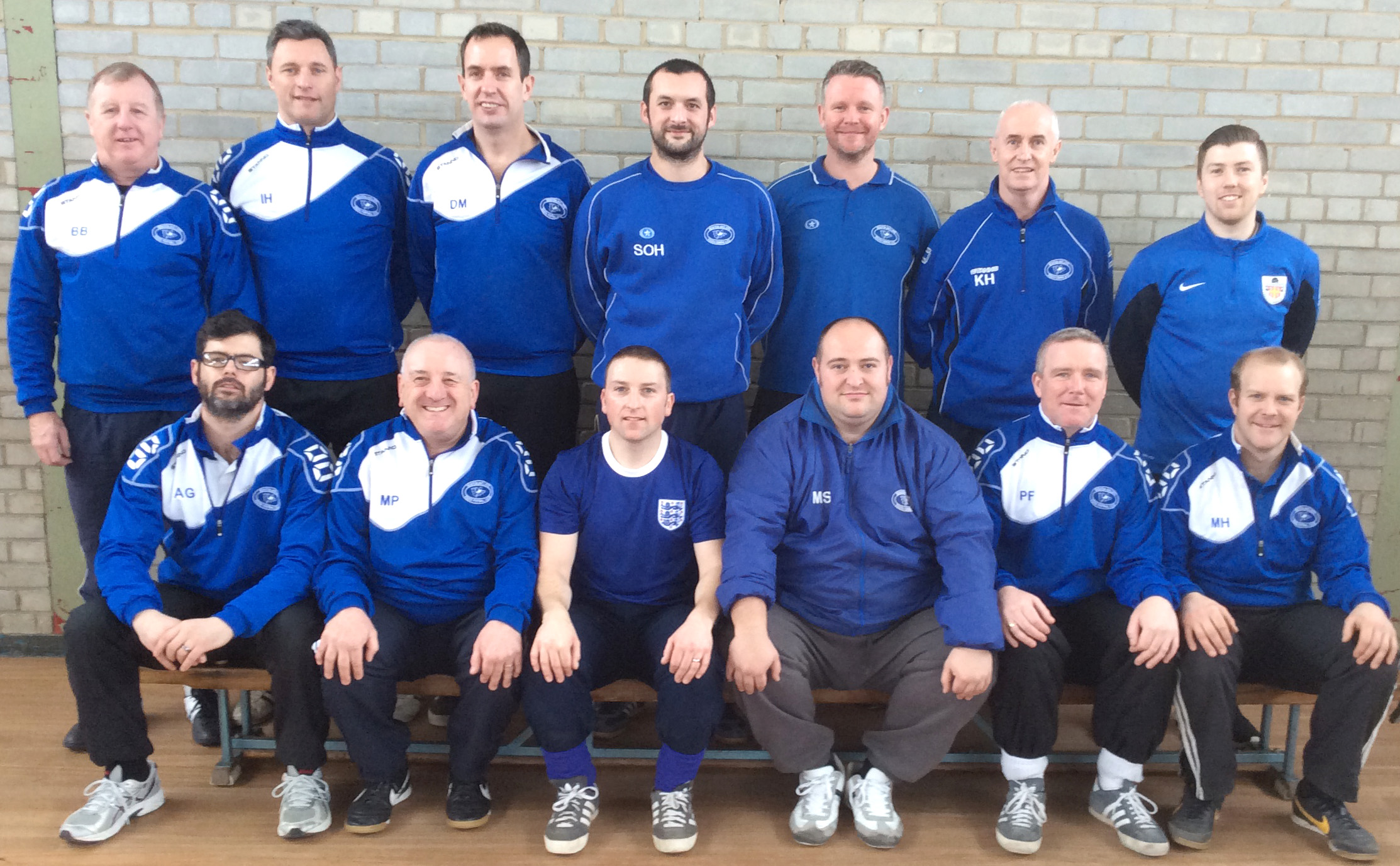 Aycliffe Coaches on F.A. Course
