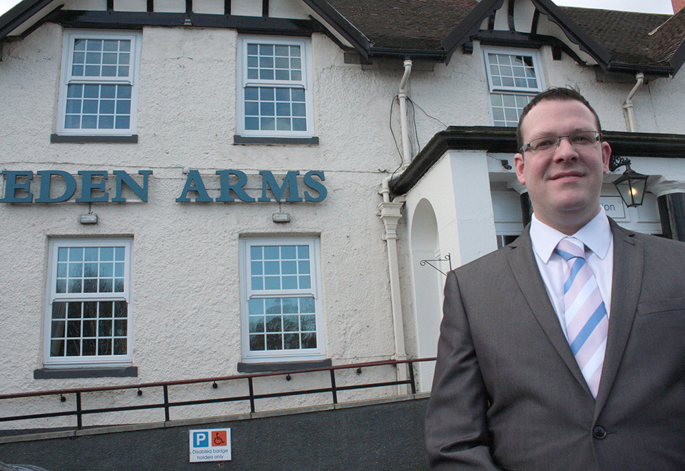 New Manager's Big Plans for Eden Arms