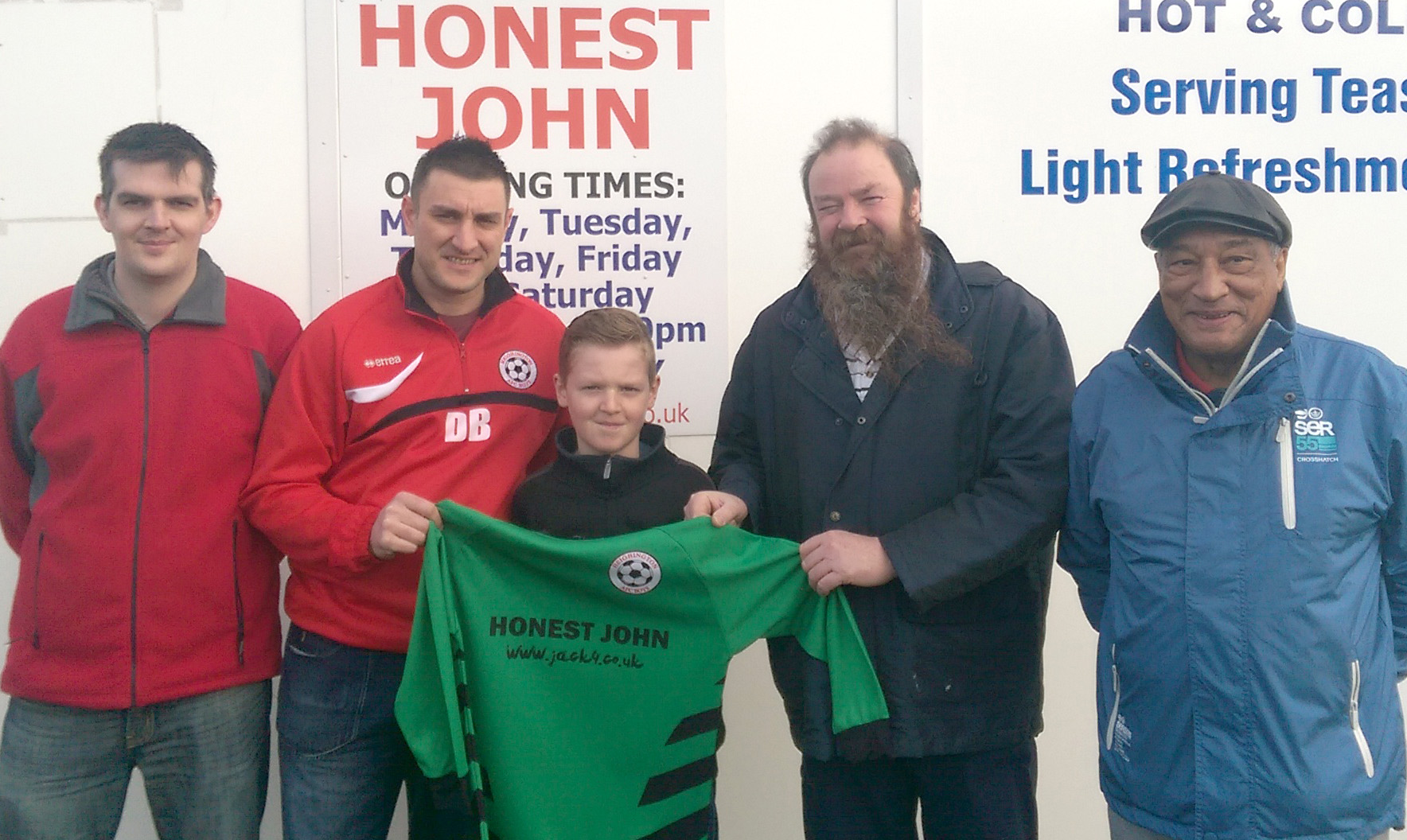 Honest John Helps Heighington AFC Boys