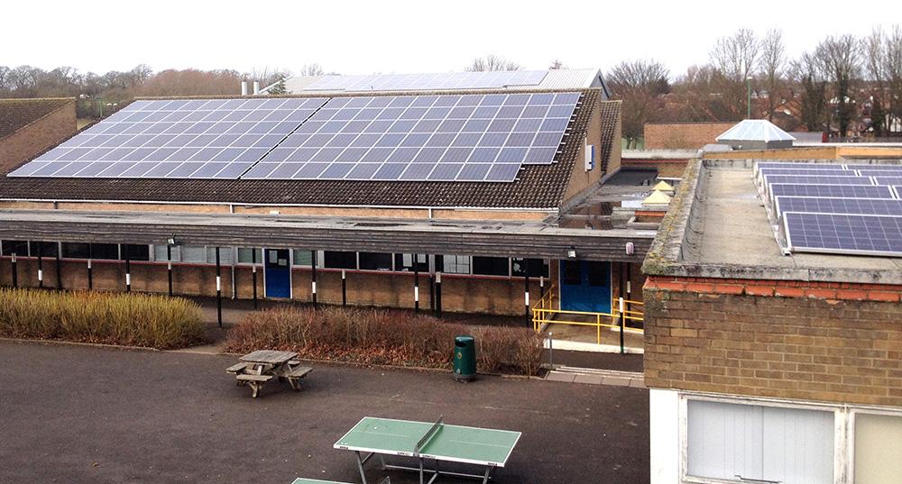 Greenfield College Go Solar
