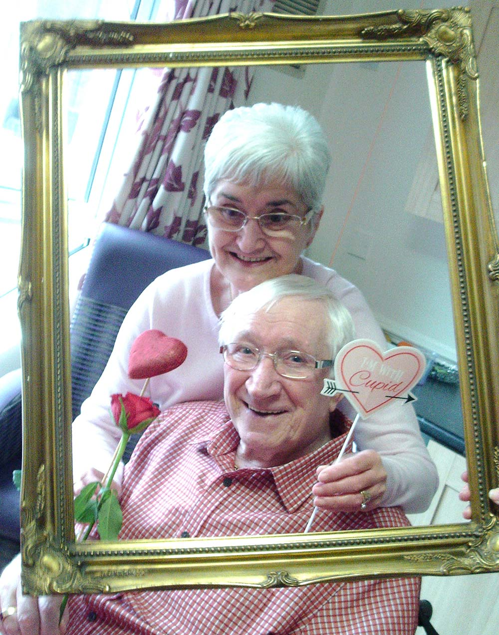 Valentine's Day at Defoe Care Home