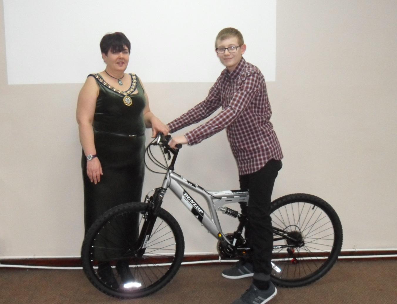 Sports Skills Bike Winner