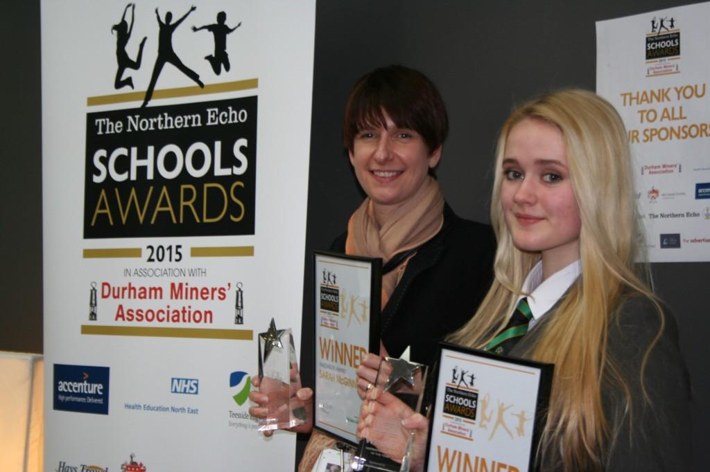 Northern Echo Awards 2015 newton news