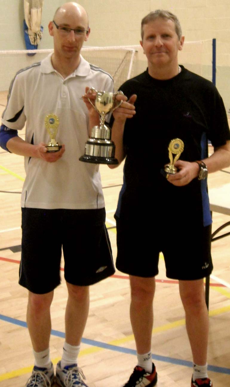 Two Badminton Trophies for Aycliffe